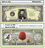 Image of Wisconsin - The Badger State - Commemorative Novelty Bill