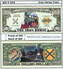 Image of Iron Horse Train Novelty Currency Bill