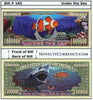 Image of Under the Sea Novlty Currency Bill