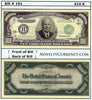 Image of $10,000 Eisenhower Novelty Currency Bill