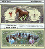 Image of Horses (Hold Your Horses, Wild Horses) Novelty Currency Bill