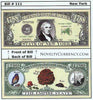 Image of New York  - The Empire State - Commemorative Novelty Bill