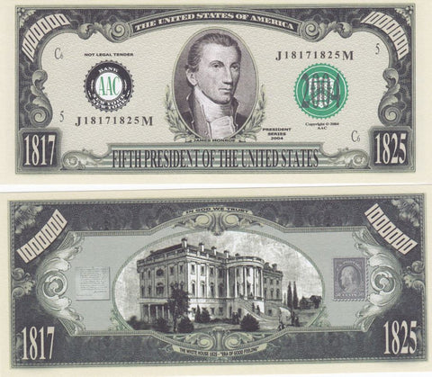 James Monroe - 5th President of the United States Bill