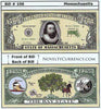 Image of Massachusetts - The Bay State - Commemorative Novelty Bill