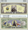 Image of Idaho - The Gem State - Commemorative Novelty Currency Bill