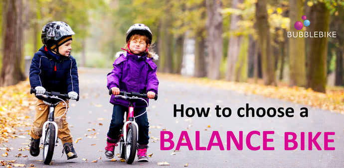 How to choose a balance bike?