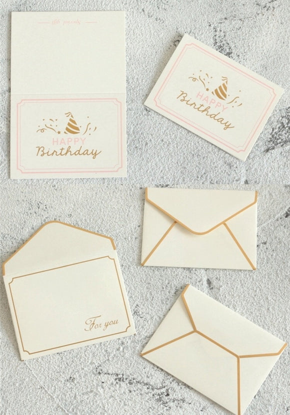Hot Stamping Gift Card