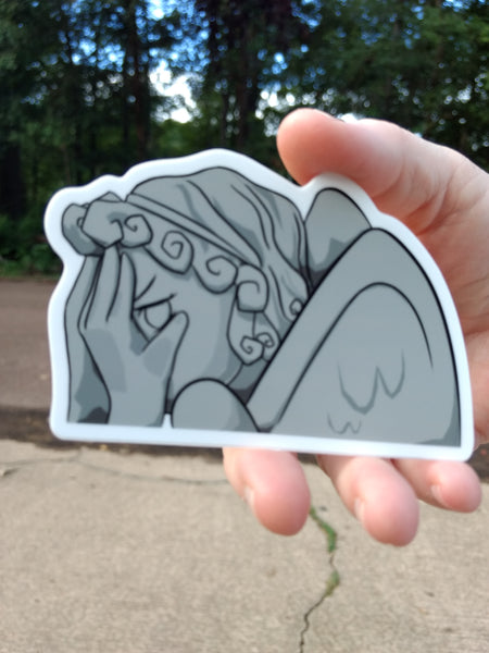 Weeping Angel Decal