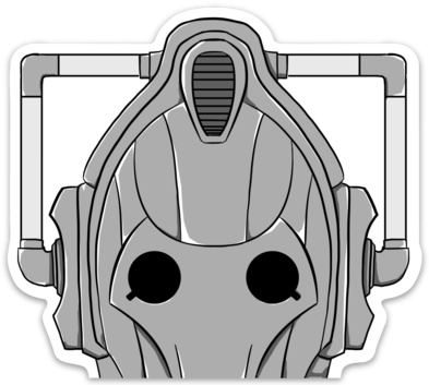 Cyberman Decal