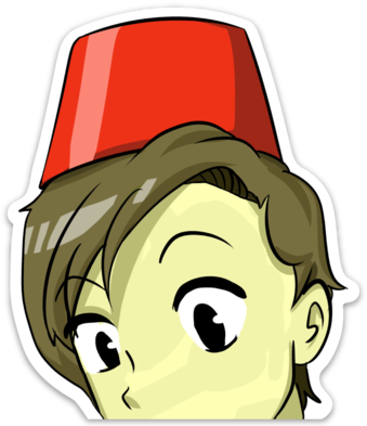 Eleventh Doctor Decal
