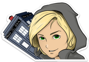 Thirteenth Doctor Decal