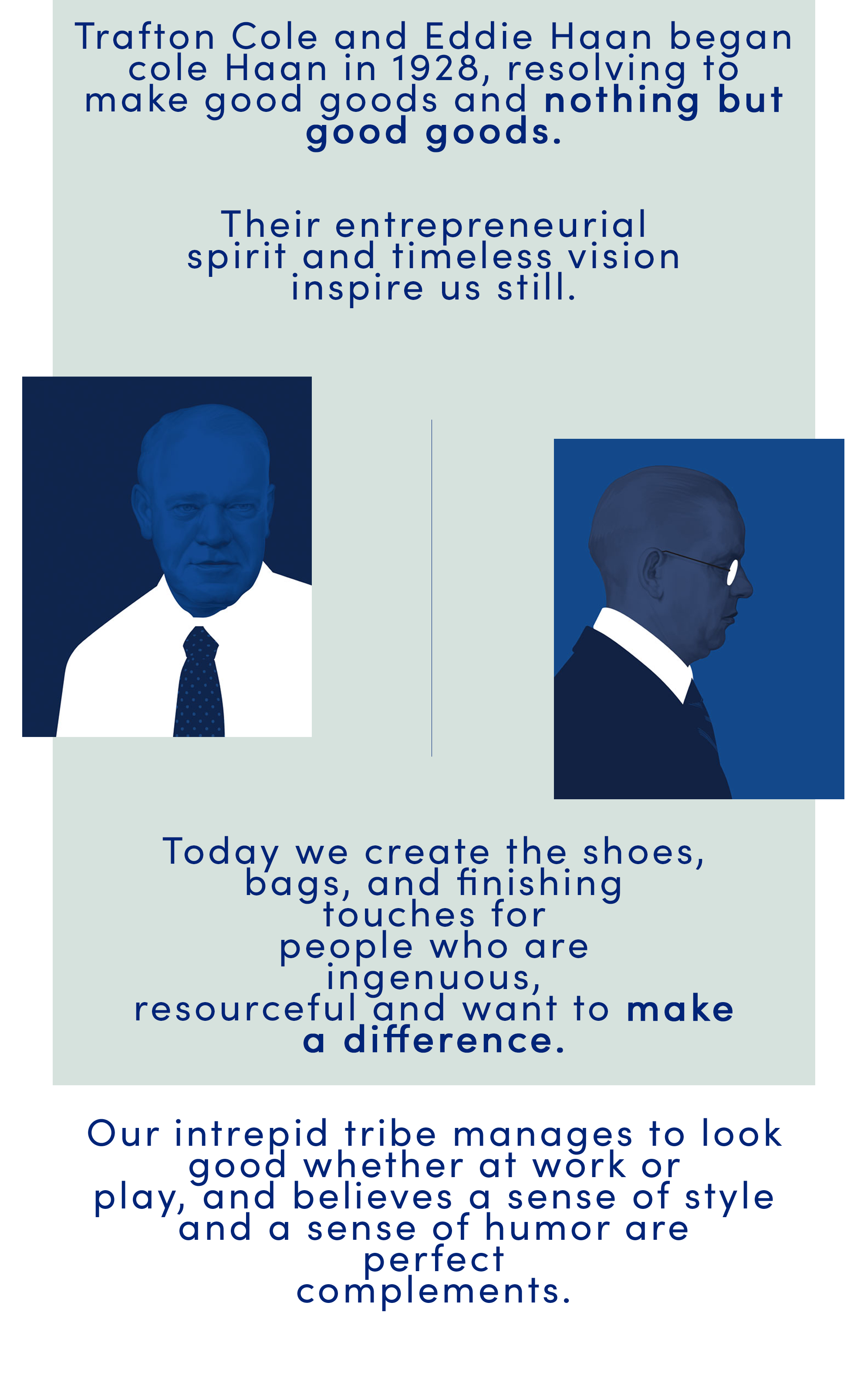 Cole Haan About Us