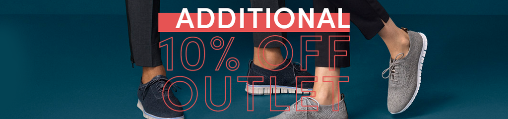 Additional 10% Off on Outlet Cole Haan UK