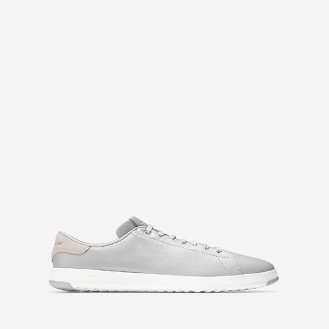 Women's Grandpro Tennis Lace Up Trainer Silver
