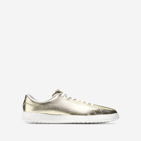 Metallic Soft Gold GrandPro Tennis Metallic Trainer