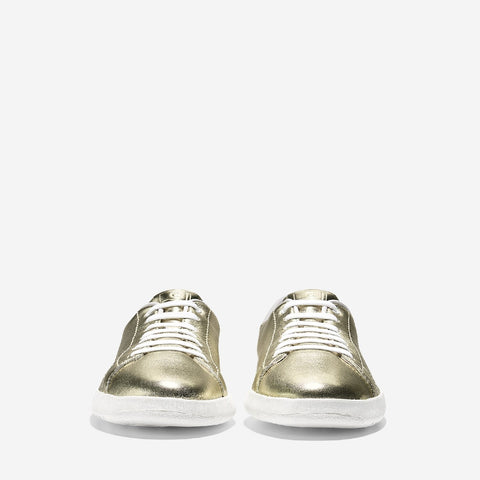 Women's GrandPro Tennis Metallic Trainer Metallic Soft Gold