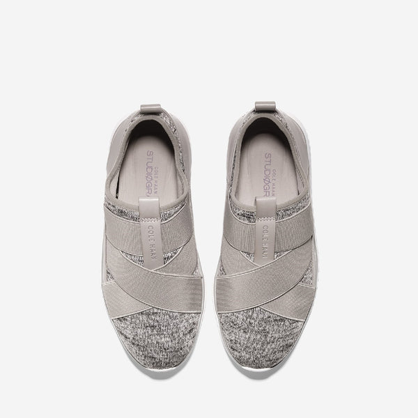 Rockridge/Pumice Stone/Ivory Studiogrand Sport Knit Slip On Trainer