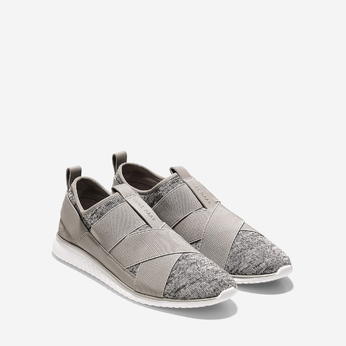 Women's Studiogrand Sport Knit Slip On Trainer Pumice Stone