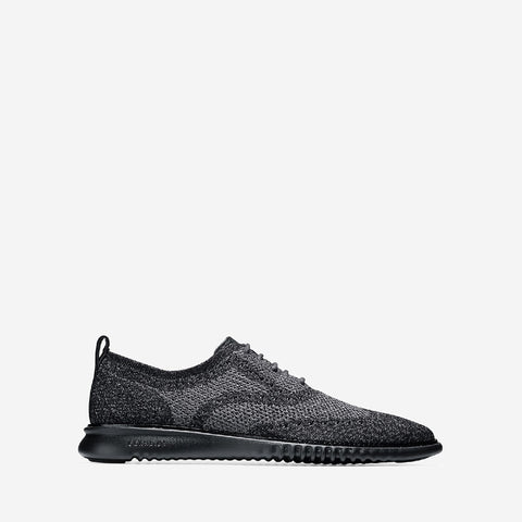 Men's 2.ZERØGRAND Stitchlite Oxford Black/Mag