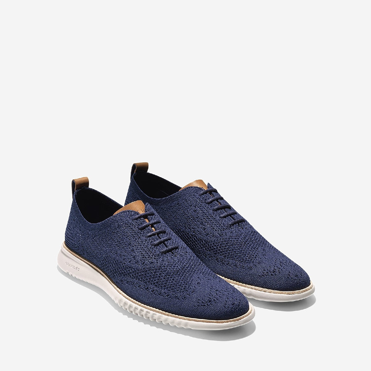 Men's 2.ZERØGRAND Stitchlite Oxford Marine Blue/Grey