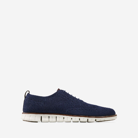 Men's ZERØGRAND Stitchlite Oxford MBlue/Iv