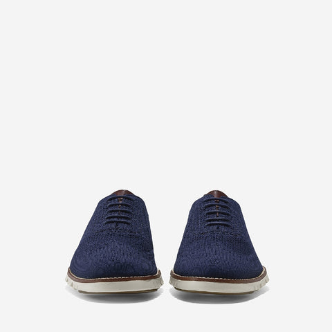 MBlue/Iv Zerogrand Stitchlite Oxford Shoe