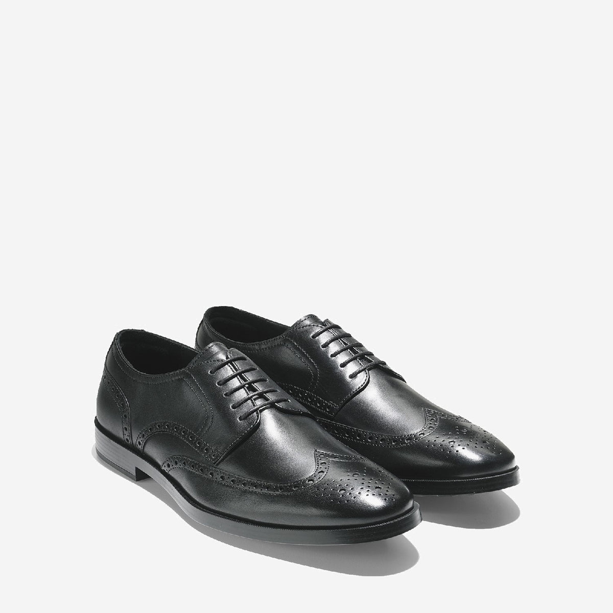 Men's Jefferson Grand Wingtip Oxford Black
