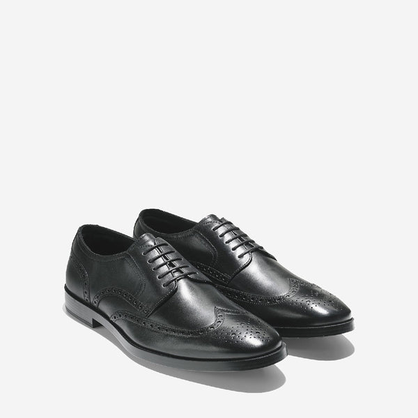 Men's Jefferson Grand Wingtip Oxford Shoe Black