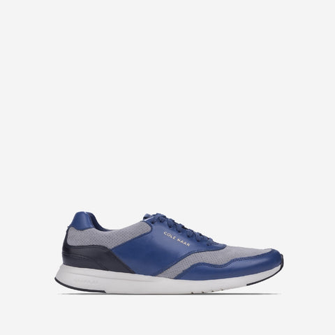 Men's GrandPrø Running Trainer Navy/Peony