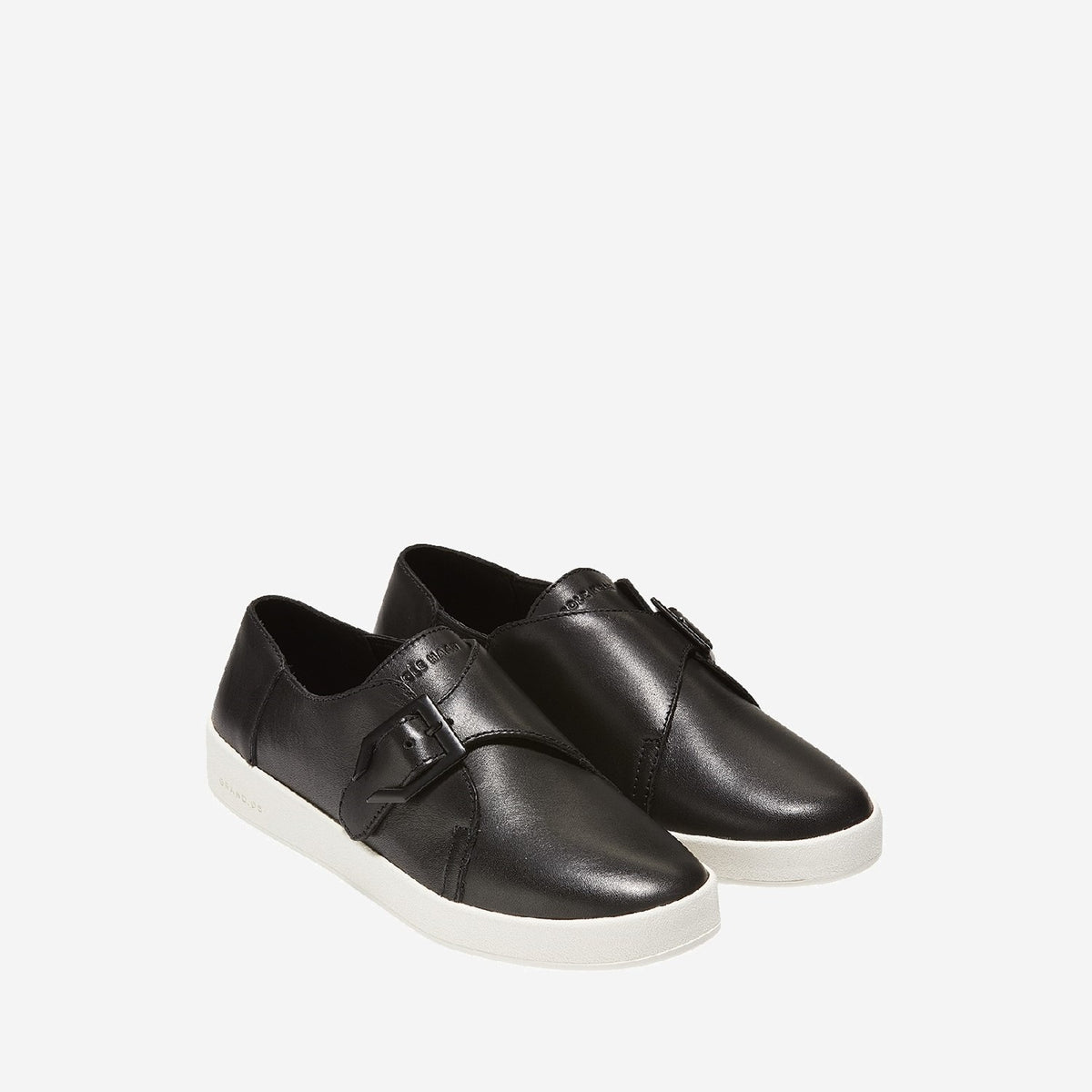 Women's GrandPrø Spectator Monk Slip On Black/Optic White