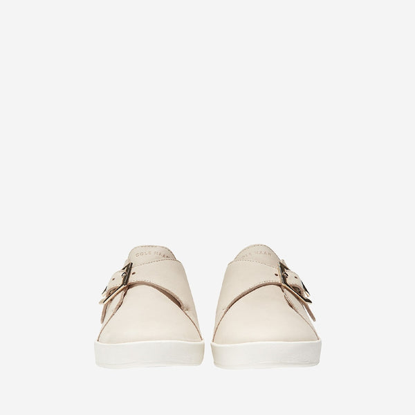 Sand/White Grandpro Spectator Monk Slip On Shoe