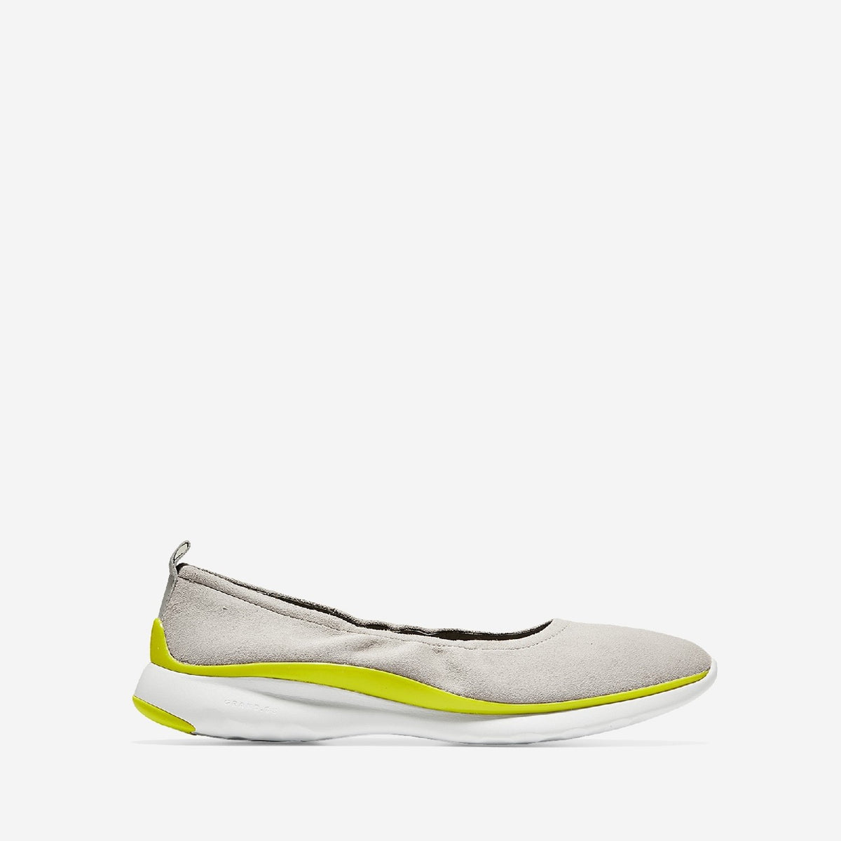 Women's 3.ZERØGRAND Ruched Slip On Shoe Dove/Sulphur