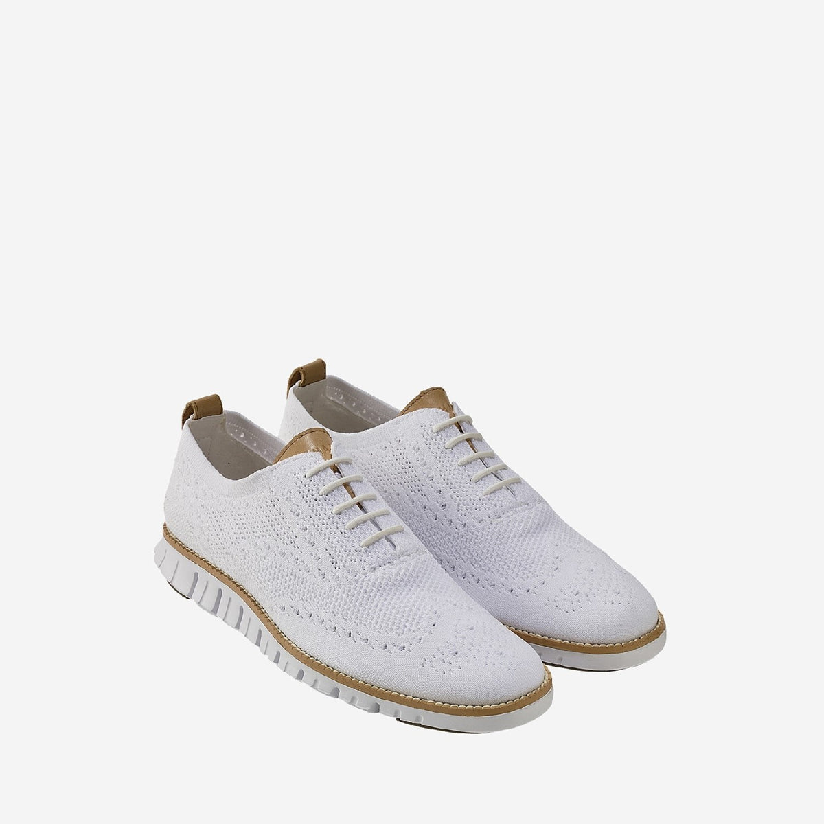 Men's ZERØGRAND Stitchlite Oxford Optic White