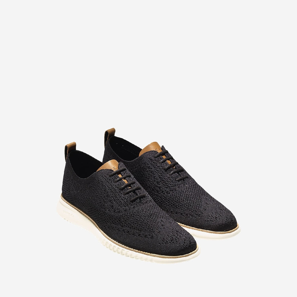 Men's 2.ZERØGRAND Stitchlite Oxford Black/Ivory