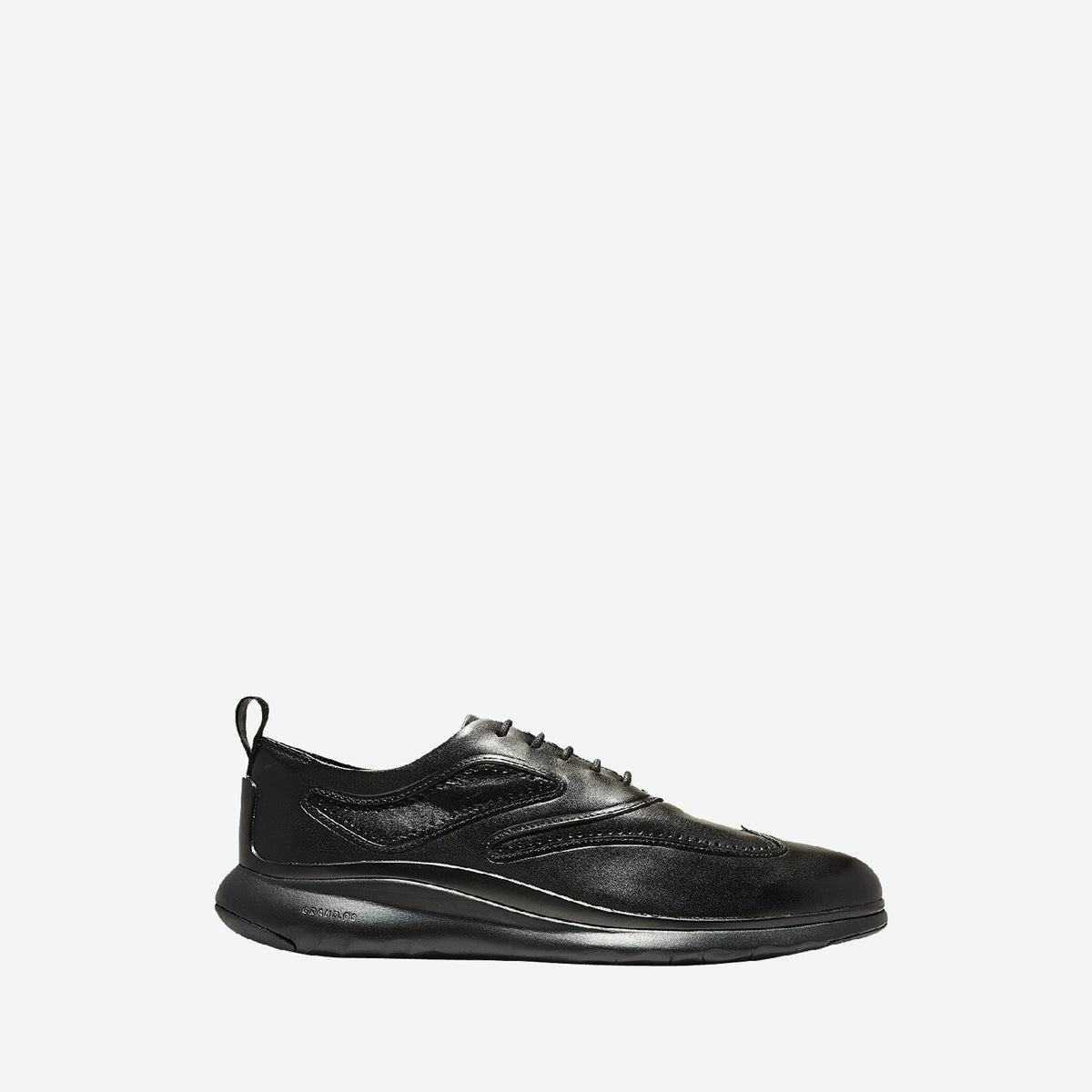 Men's 3.ZERØGRAND Wingtip Oxford Black Chassis