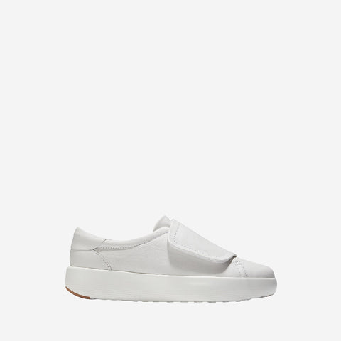 Women's GrandPrø Tennis Flatform Monk Optic White