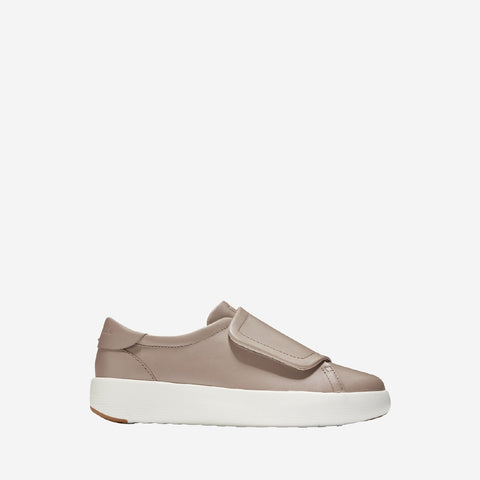 Women's GrandPrø Tennis Flatform Monk Etherea Leather/Optic White