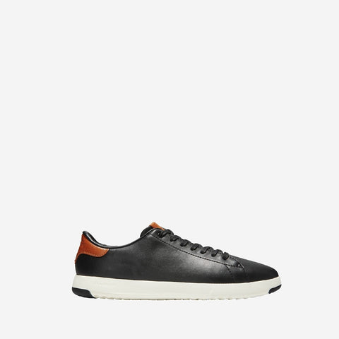 Men's GrandPrø Tennis Trainer Black/British Tan
