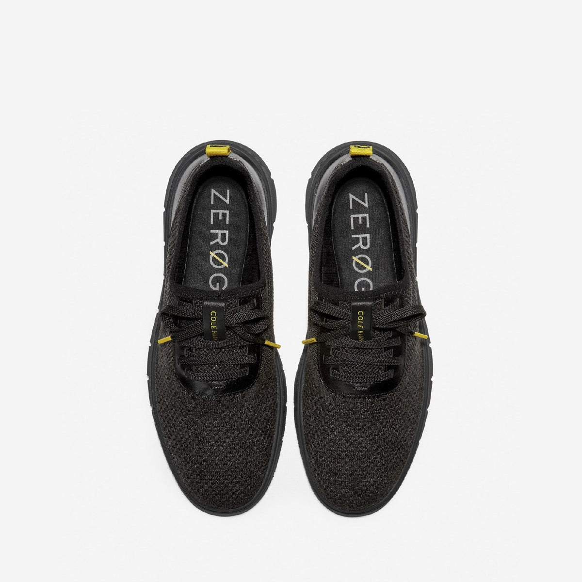 Men's Generation ZERØGRAND Stitchlite Trainer Black Knit