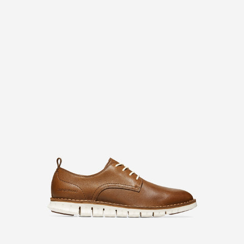 Men's ZERØGRAND Stitchout Oxford Lace Up Shoe Brown