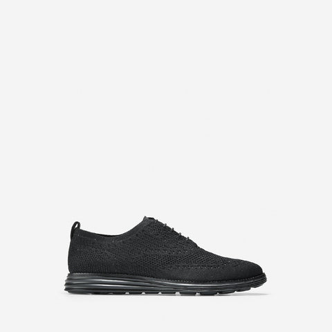 Men's ØriginalGrand Stitchlite Wingtip Oxford Black/Black