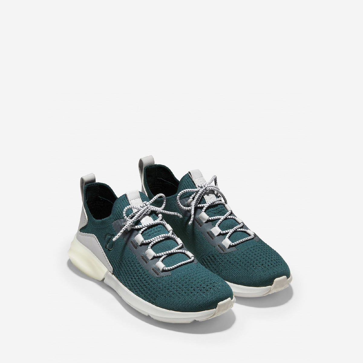 Women's ZERØGRAND All-Day Lace Up Runner Deep Teal/Optic