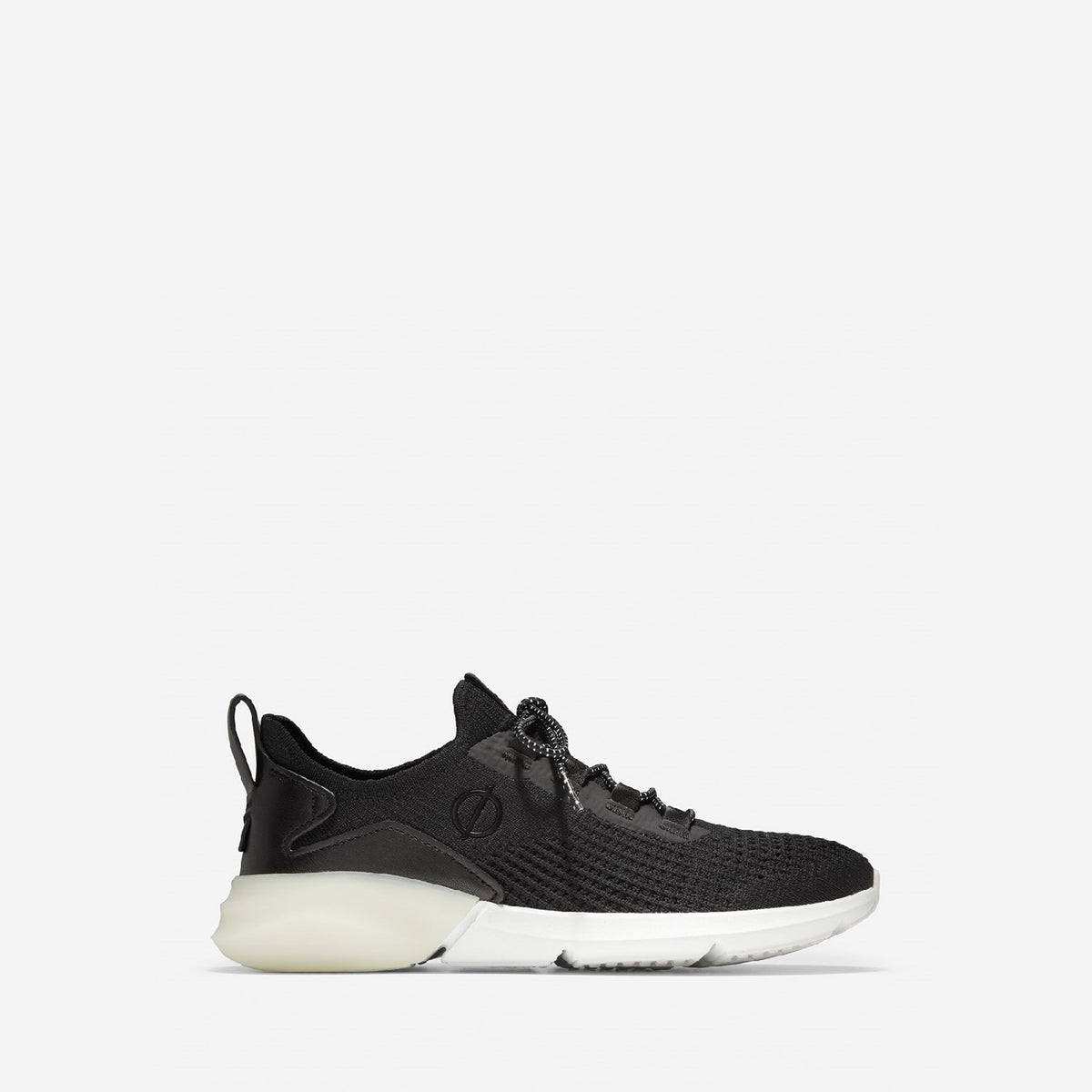 Women's ZERØGRAND All-Day Lace Up Runner Black/White