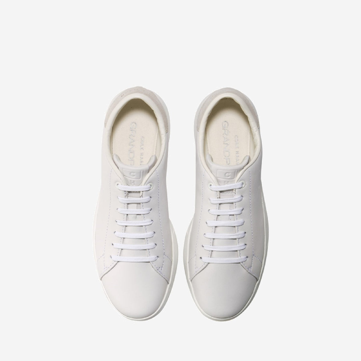 Women's GrandPrø Tennis Lace Up Trainer Optic White