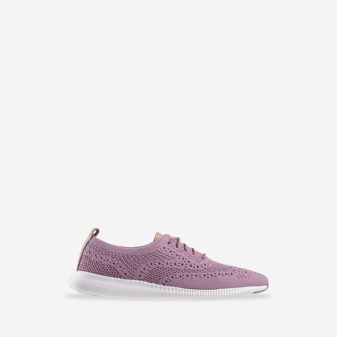 Women's 2.ZERØGRAND Stitchlite Oxford Lace Up Shoe Orchid Haze/Violet
