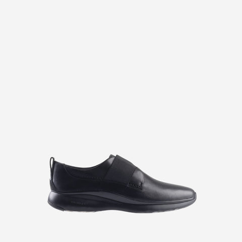 Women's 3.ZERØGRAND Oxford Slip On Shoe Black
