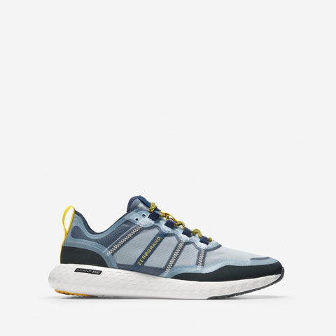 Men's ZERØGRAND Outpace Runner Black/Marine Blue