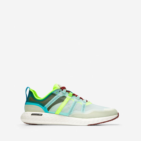 Men's ZERØGRAND Outpace Runner Grey/Gold