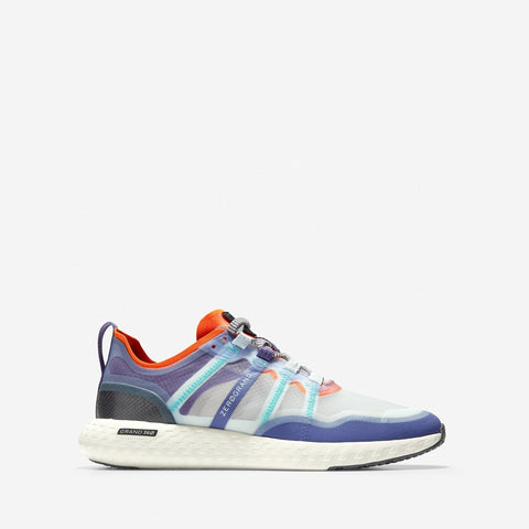 Women's ZERØGRAND Outpace Runner Golden Poppy/Blue/Ivory