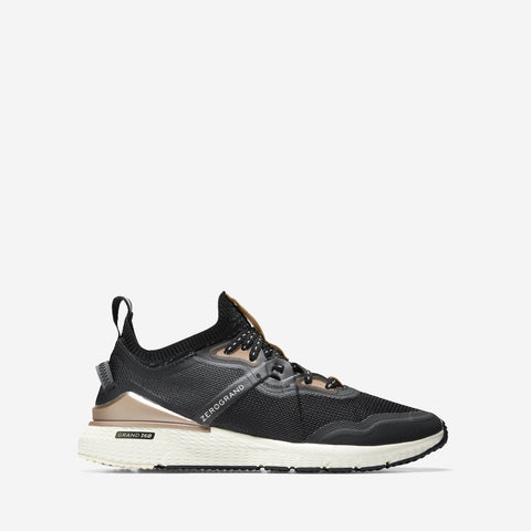 Women's ZERØGRAND Overtake Runner Grey/Black/Rose Gold/Ivory